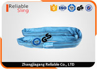 China EN1492-2 Heavy Duty Polyester Round Webbing Sling Belt For Lifting 8ton factory