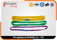 China EN1492-1 Color Code Polyester Endless Tube Pipe Flat Webbing Strap Sling factory