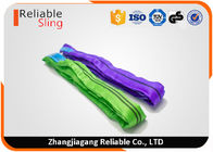 China EN1492-2 Color Code Durable Polyester Endless Round Sling For Cargo Lifting factory