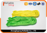 China 1 ton- 10 ton PES Material Portable Soft Round Lifting Sling Belt factory