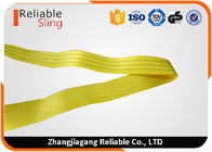 China One Way Round 3 Ton Polyester Flat Woven Endless Lifting Slings / Webbing Sling factory