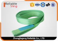 China Colour Code Endless Polyester Web Slings Flat Belt Type High Tenacity SF 7 factory