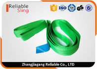 China One Way Round Endless Lifting Slings Wear Resistant 100% Polyester Material factory