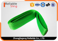 China Light Weight Polyester Endless Webbing Sling Industrial Double Ply Portable Sling factory