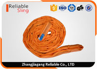 China CE Round Webbing Sling Endless Polyester Lift Cargo Strap With High Safety Factor factory