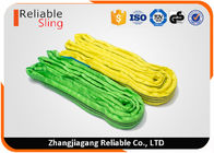 China High Safety Endless Soft Round Webbing Sling Polyester Synthetic Round Sling factory