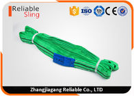 Heavy Duty Round Polyester Webbing Slings Endless Web Sling For Port Loading Unloading