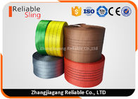 China Corrosion Resistant Simplex Flat Belt Type Polyester Webbing Low Elongation factory