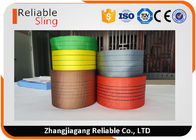 China Lightweight Synthetic Polyester Lifting Webbing Wear Resistant Sling Webbing Tape factory