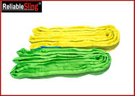 China High-Strength Polyester Yarn Color Code Polyester Lifting Slings Endless Cargo Slings factory