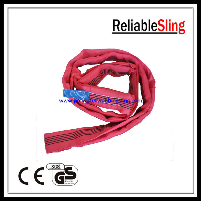Soft Heavy - lift Endless round sling for lifting steel equipments and pipe