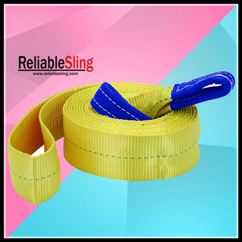 CE / GS Approved Heavy Duty Tow Straps 3 TON High Tenacity Polyester