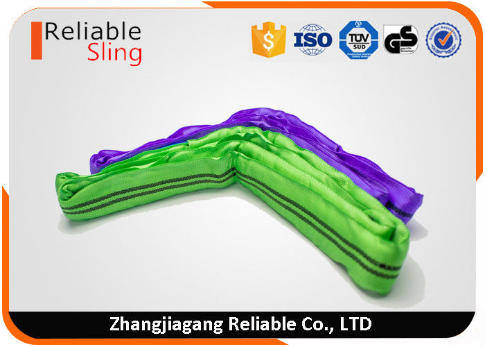En1492-2 Ce GS High Tensile Polyester Webbing Round Lifting Sling Strap