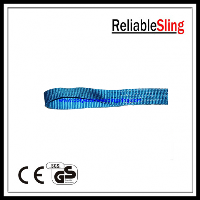 High Strength Eye and eye Heavy Duty Tow Straps , wheel straps for Recovery and Towing