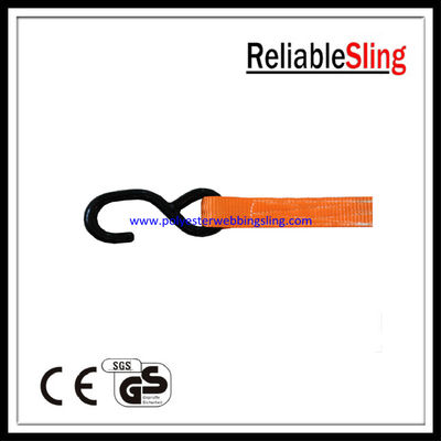 Heavy Duty S Hook for Lashing Ratchet Tie Down Webbing Strap