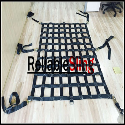 Waterproof Material Webbing Cargo Net / Lifting Cargo Nets For Truck