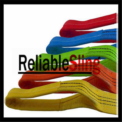 OEM 2'' Cargo Lashing Strap Webbing / 100% Polyester Tie Down Webbing