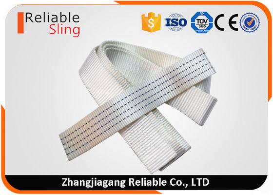 50mm Width Polyester Heavy Duty Lashing Strap Webbing White Heat Resistant