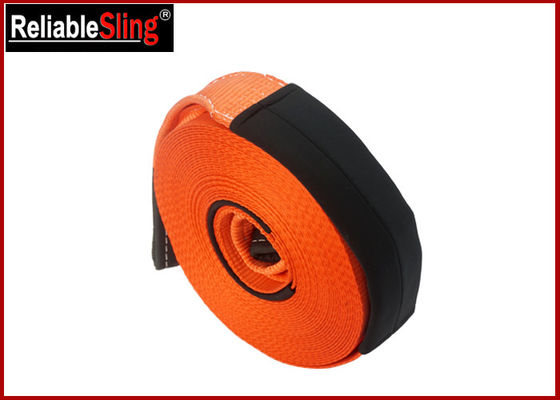 Polyester Heavy Duty Tow Straps Off Road Vehicle Recovery Towing Strap