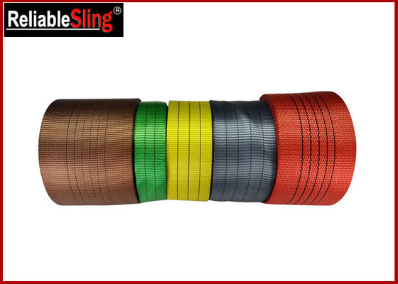 Flexible Fade proof Webbing Tape Multi Color Polyester Webbing Flat Belt Webbing